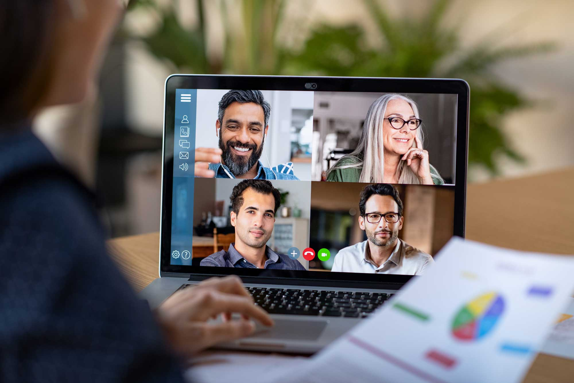 Video conference - Remote working